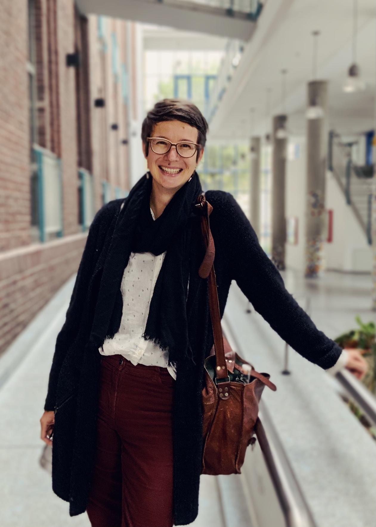 Portrait von Charlotte Schmidt
