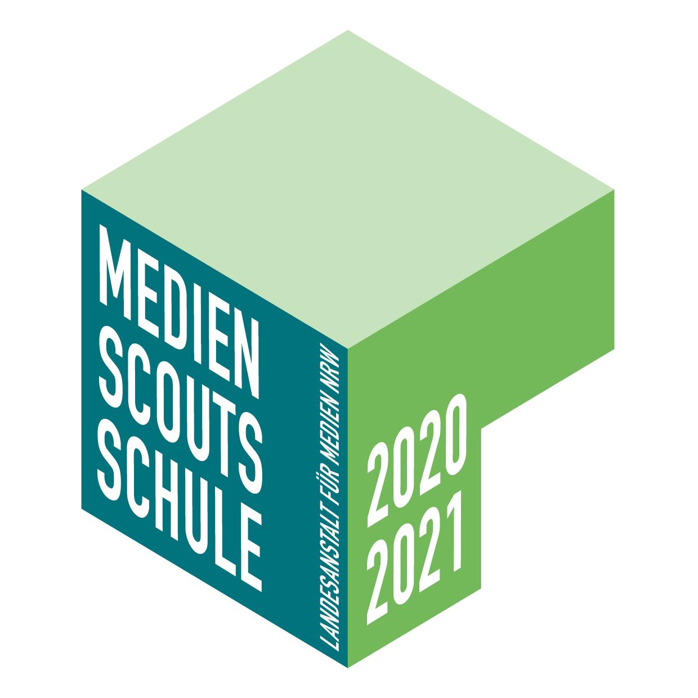 Das Bild zeigt das Logo der Medienscouts